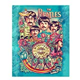 The Beatles- Music Poster Print'Sgt. Peppers Lonely...