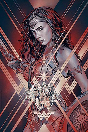 Lionbeen Wonder Woman Movie Poster Cartel de la Pelicula 70 X 45 cm