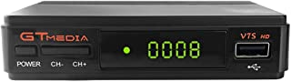 comprar comparacion GT Media V7S HD DVB-S2 Decodificador de Receptor de TV Satelital Freesat V7 HD Actualización con Antena USB WiFi FTA 1080P...