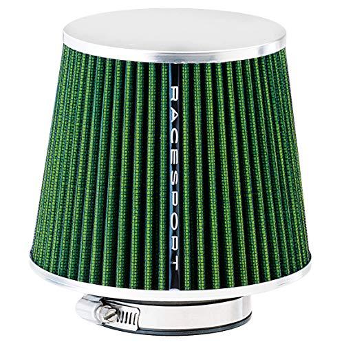 Sumex Airgrin - Filtro Aire Universal con Adaptador, Verde / Cerrado