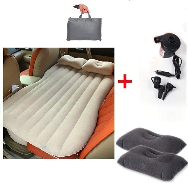 Auto-Luftbett, aufblasbare Matratze, Rücksitzkissen  2 Kissen für Reisen, Camping, Auto, Reise, aufblasbare Matratze, passend für die meisten Autos, MPV und SUVs B07LCL4ZNZ  Ausgewählte Materialien