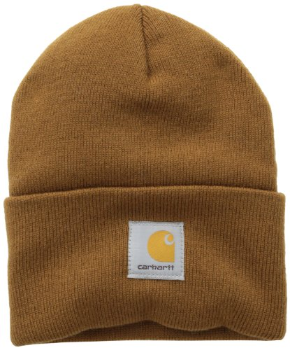 Carhartt A18BRN Watch Hat-Bonnet Acrylique, Marron, Brown, OFA Mixte