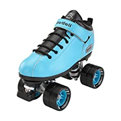 HIGH-QUALITY ULTRA DURABLE ROLLER SKATES - These quad roller skates are man-made using a vinyl material that creates a breathable, yet durable skate boot. The skates have a high-impact PowerDyne Thrust nylon plate with strong metal trucks for optimal...
