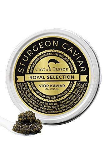 Osietra Imperial v. sibirischen Stör Kaviar (125 GR)