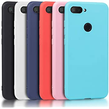 Wanxideng - 6X Funda para Xiaomi Mi 8 Lite (No para Xiaomi Mi 8 ...
