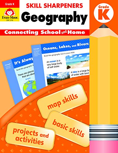 Compare Textbook Prices for Evan-Moor Skill Sharpeners: Geography Grade K Student Edition Supplemental or homeschool Activity Book, Basic Map Skills Student Edition ISBN 0023472037404 by Evan Moor