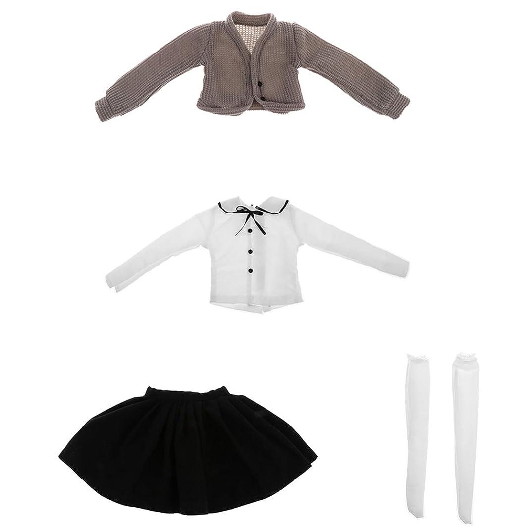 見つけた落ち着かない扱いやすい1/3BJD SDドール人形用 カーディガン セーター シャツ スカート 靴下 人形ドール
