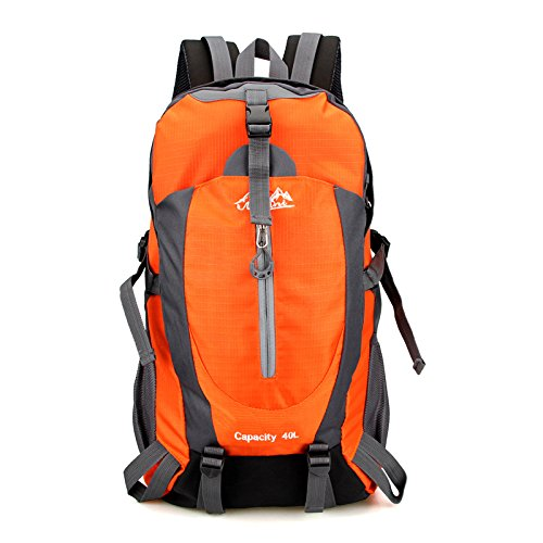 Imperméable à l'eau multifonctionnel sports de plein air sacs à dos sacs de sport outdoor alpinisme sac sport voyage épaule , orange