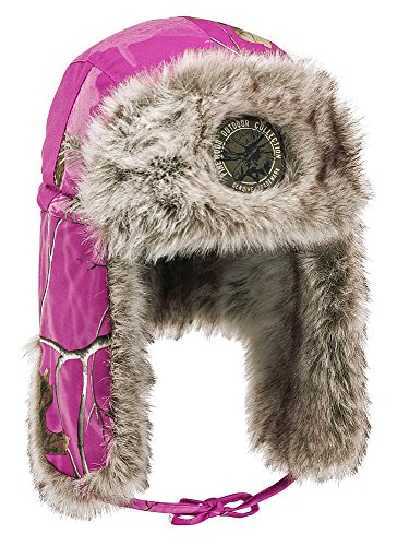 Pinewood 8420 Murmansk Winterkappe Wintermütze Realtree AP Hot Pink HD (947) M-L