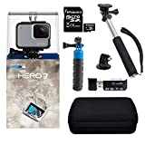 GoPro Hero7 White Bundle with Float Handle, Handheld Monopod, Camera...