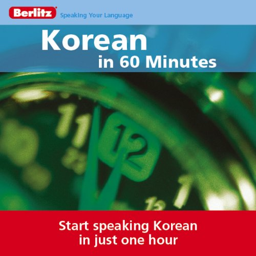 Korean...In 60 Minutes audiobook cover art
