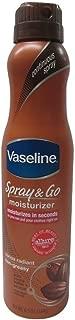 Vaseline Spray & Go Cocoa Radiant Moisturizer 6.5 Ounce (192ml) (2 Pack)