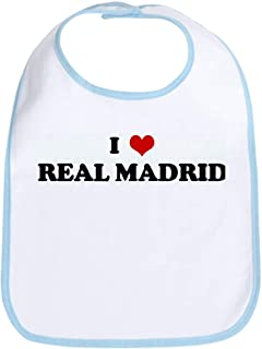 I Love REAL MADRID Bib Cloth Baby Bib