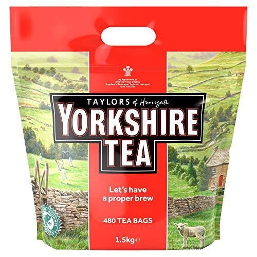 Taylors of Harrogate Yorkshire Tea 480 Btl. 1.5kg - Schwarzer Tee Teebeutel