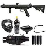 Maddog Tippmann Stormer Tactical Silver Paintball Gun Marker Starter Package - Black