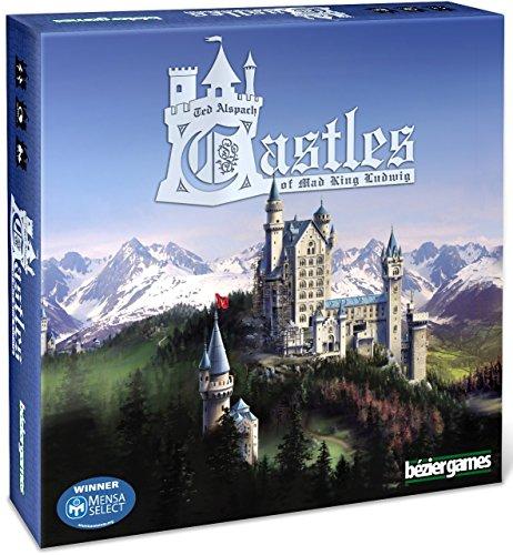 Bezier Games BEZ00011 - Castles of Mad King Ludwig (I Castelli del Re Ludwig), Gioco da Tavolo [Lingua Inglese]