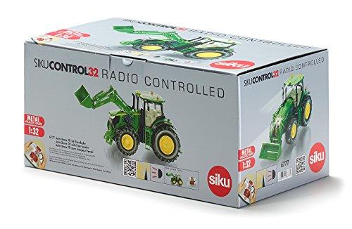 RC Auto kaufen Traktor Bild 3: DEMA John Deere 7R mit Frontlader, Fernsteuermodul/6777*