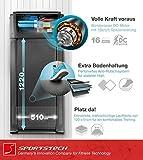 Sportstech FX300 Ultra Slim Laufband – Deutsche Qualitätsmarke – Video Events & Multiplayer APP, Riesen Lauffläche 51x122cm & kein Aufbau, 16 km/h,USB Ladeport, Pulsgurt kompatibel für Cardio Training - 6