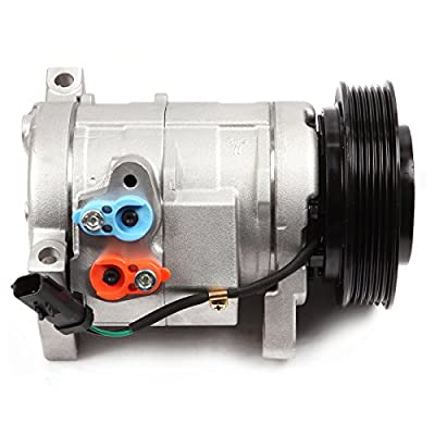 SCITOO Air Conditioning Compressor Compatible with CO 29001C 2001-2007 for D-odge Grand Caravan Ch-rysler Town & Country 3.3L 3.8L
