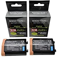 str 2個セット 残量表示可能 EN-EL4a EN-EL4 互換大容量バッテリー ニコン D2X / D2Xs / D2H / D2Hs / D3 / D3S/ D3X / D700 / D300S / D300 一眼レフカメラ対応 メーカー純正充電器で充電可能