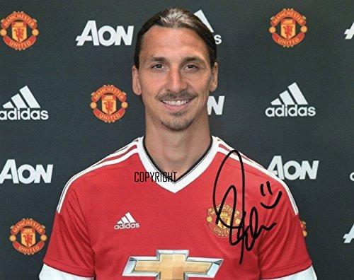 THEPRINTSHOP Autogrammkarte, Limitierte Auflage, Zlatan Ibrahimovic signiert, mit Zertifikat