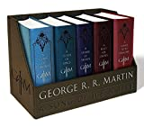 George R.R. Martin Boxed Set: A Game of Thrones, A Clash of Kings, A Storm of Swords, A Feast for Crows, and A Dance with Dragons: 1-5 (Song of Ice and Fire)