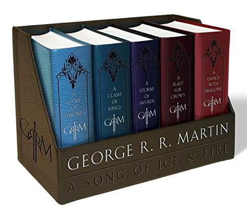 George R.R. Martin Boxed Set: A Game of Thrones / A Clash of Kings / A Storm of Swords / A Feast for Crows / A Dance With Dragons (Song of Ice and Fire)