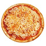 Cheese Pizza Ultra-Soft Fleece Throw Blanket Plush Round Blanket Novelty Food Blanket for Sofa Couch Bed Small