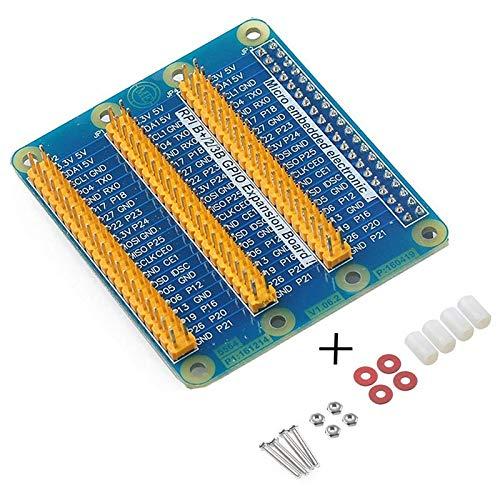 REFURBISHHOUSE Fuer Raspberry Pi 3 Pi 2 Pi Modell B + GPIO Erweiterung Erweiterungskarte Eine Zeile zu DREI Zeilen