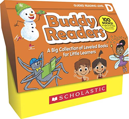 Scholastic Buddy Readers, Set of 100, Level D