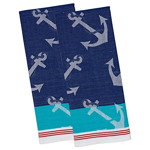 DII Cotton Jacquard Dish Towels, 18x28