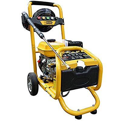 RocwooD Petrol Pressure Power Washer 3000 PSI 8HP 4 Stroke High Jet Washer from RocwooD