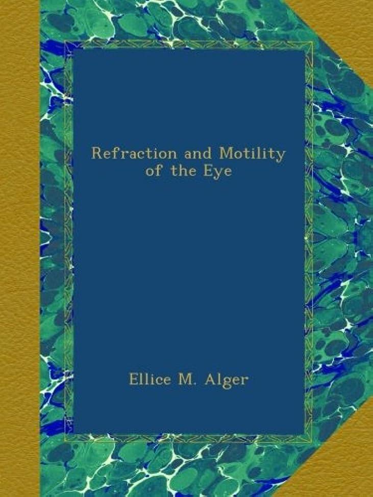 モーション因子未使用Refraction and Motility of the Eye