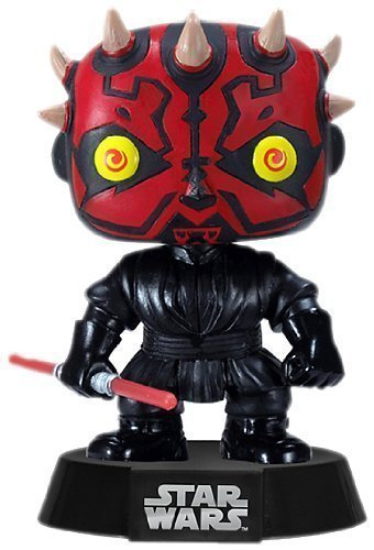 Funko POP 3 3/4 Inch Star Wars Darth Maul Action Figure Dolls Toys by Funko POP Toys