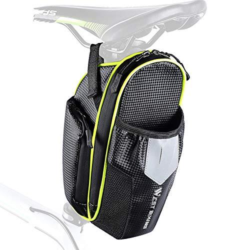 Sacoche Velo Femme Sacoche Velo Porte Bagage Cycle Accessoires Topeak Selle Sac Vélo Sac Cyclisme Accessoires Accessoires vélo Vélo Accessoires Green,Free Size