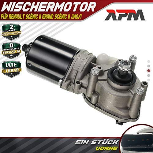 Motor de limpiaparabrisas delantero para Grand Scénic II JM0/1_ 2003-2019 7701056003