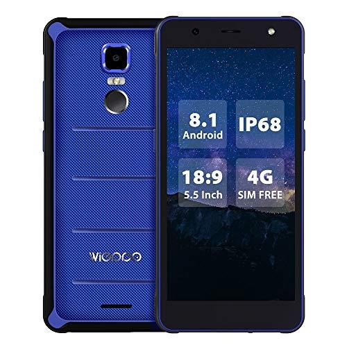Wieppo E1 Outdoor Handy - Android 8.1 Rugged Handy, Dual SIM Outdoor Smartphones Ohne Vertrag 5.5