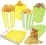 Sacchetti Carta, 20pcs Sacchetti Popcorn,Sacchetti Caramelle,Scatole Per Popcorn,Snack Per Feste, Biscotti,Patatine Fritte, Bocconcini Di Pollo,Scatole Per Caramelle,Per Feste Di Natale E Compleanno