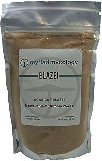 Myriad Mycology Blazei Mushroom Powder 5.2oz or 150g, Made in USA/Ji Song Rong