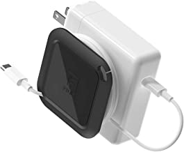 Fuse Reel The Side Kick Collapsible Charger Organizer and Travel Accessory Compatible with MacBook and PC Charging Cords a...