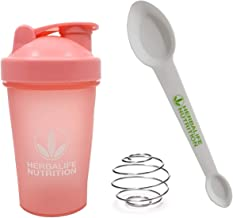 Herbalife Shaker Bottle 13 5-Ounce 400ml Pink and Herbalife Spoon 1 Pack Estimated Price : £ 45,99