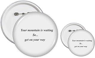Get On Your Way to Mountain Pin's Kit de création de boutons et de badges
