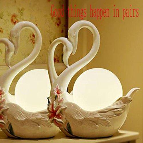 * Tafellamp tafellamp bruiloft slaapkamer nachtkastje zwevende tafellamp creatief gepersonaliseerde huwelijk geschenk tafellamp bedlampje