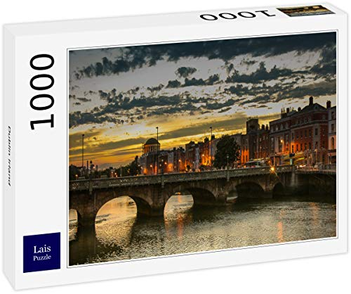 Puzzle Dublín Irlanda 1000 Piezas