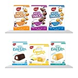 SIMPLE INGREDIENTS: Mrs. Katzis committed to making delicious tasting Gluten Free Food using the kinds of simple, everyday ingredients you'd keep in your own pantry. CONTAINS: You will receive 6 Packages of our Grab and Go GF Prodcuts. 3 Flavors of ...