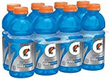 Gatorade Thirst Quencher Fierce, Blue Cherry, 20 Ounce (8 Count)