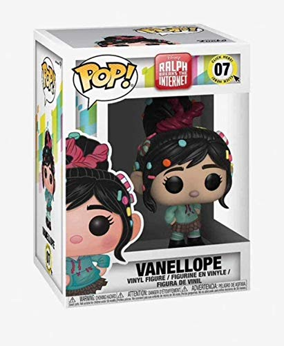 YDDM Funko Pop Disney: Wreck-It-Ralph 2 - Vanellope # 7 Wreck-It Ralph # 6 Figura Vinyl Multicolor-Vanellope # 7