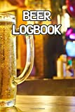 Beer Logbook: Write Records of Beers, Projects, Tastings, Equipment, Guides, Reviews and Courses