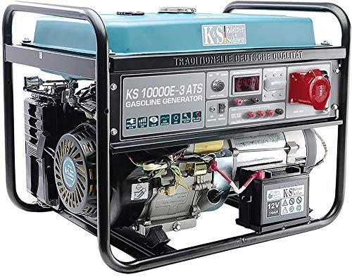 K&S | Könner&Söhnen | Benzin Generator | 230V | 400V | 8KW | Stromaggregat | KS10000E-3 ATS | Stromerzeuger