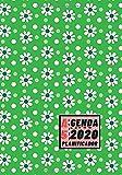 Agenda 2020 Planificador A5: Diseño de Portada Margaritas Verde Primavera - Bonitas Agendas con Planificador semanal y mensual - Pequeña y de bolsillo ... eventos y fechas importantes a semana vista